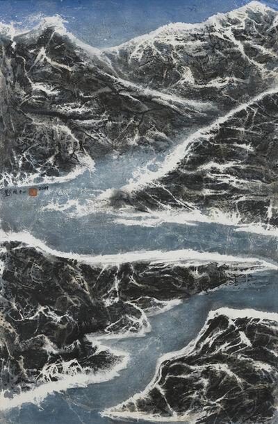 Liu Kuo-sung 刘国松, 'Bent Around the Mountain', 2009