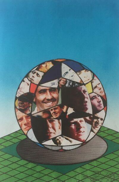 Erró, 'Projet n°2 of 20th Lancôme Trophy poster', 1989
