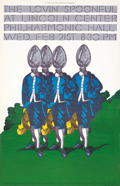Milton Glaser, 'Milton Glaser The Lovin' Spoonful poster (Milton Glaser posters)', 1972