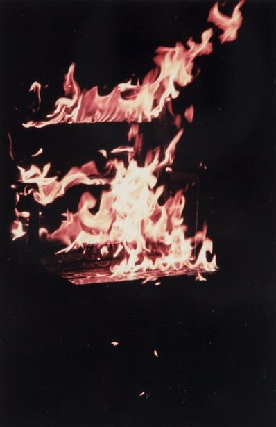Tony Tasset, 'Untitled (Comiskey Pyre)', 1991