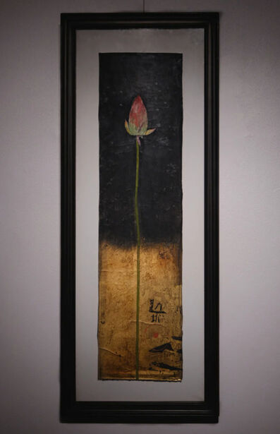 Fujii Kansuke, 'Lotus Bud (framed)', 2006