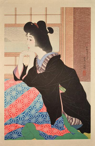 Kotondo Torii, 'Snow', 1929