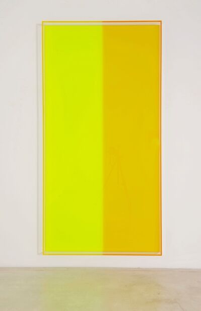 Regine Schumann, 'colormirror yellow green bonn', 2018