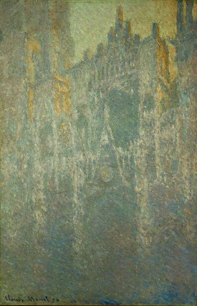 Claude Monet, 'La Cathedrale de Rouen, brouillard (in the fog)', 1893