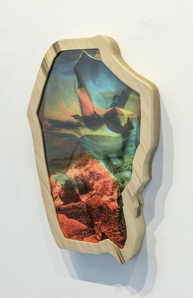 Kalee Appleton, 'Pebble Beach I (Orange & Green)', 2018