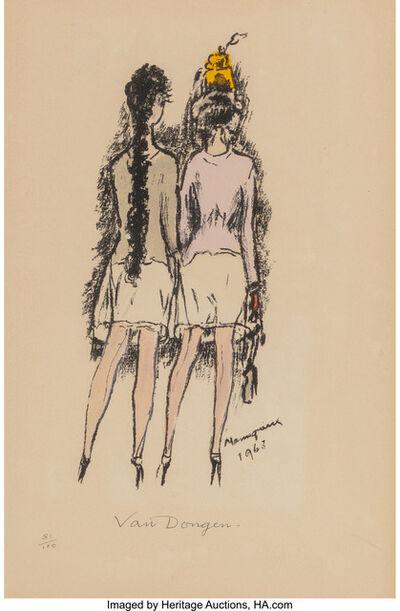 Kees van Dongen, 'Mannequins', 1963