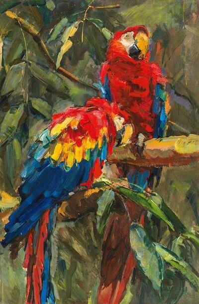 Carl Fahringer, 'Scarlet Macaw', ca. 1930