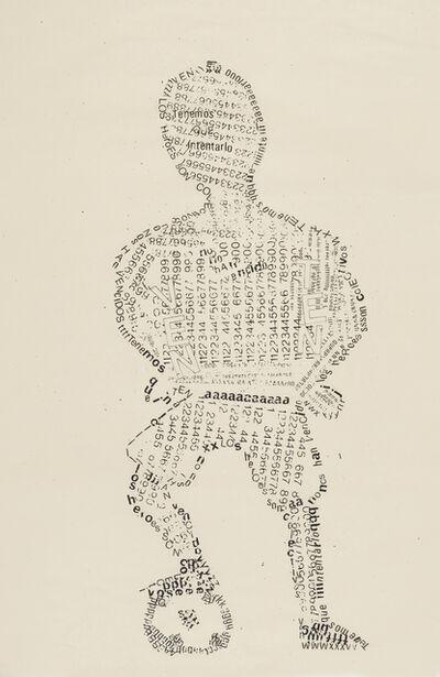 Fernando Coco Bedoya, 'Los héroes son anónimos', 1984