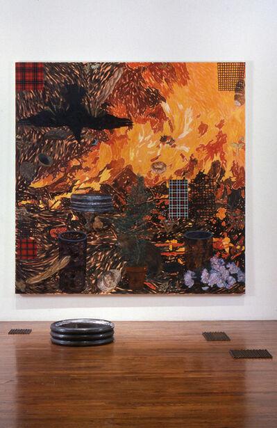 Jennifer Losch Bartlett, 'Beaver: Man Carrying Thing', 1989
