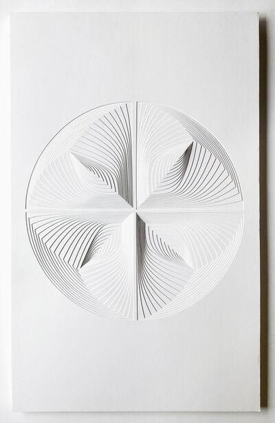 Elizabeth Gregory-Gruen, 'Free Hand Cutwork: 'Four Piece Circle Reflection'', 2021