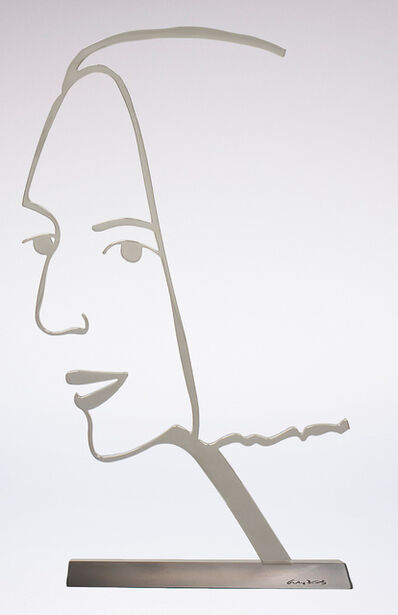 Alex Katz, 'Ada (Outline)', 2018