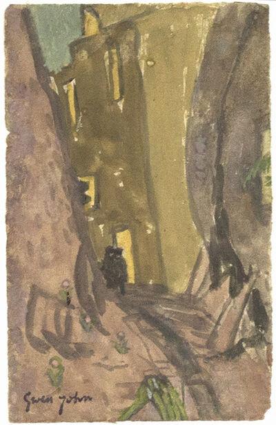 Gwen John, 'Street at Night, Meudon'
