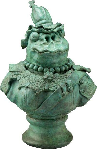David Gilhooly, 'Frog Queen Victoria', 1989
