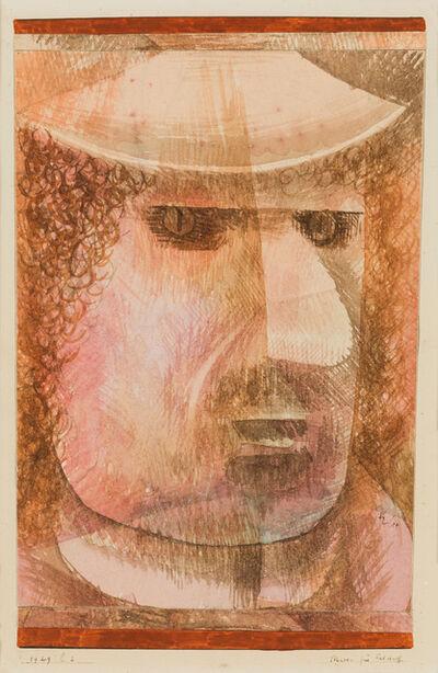Paul Klee, 'Maske für Falstaff', 1929