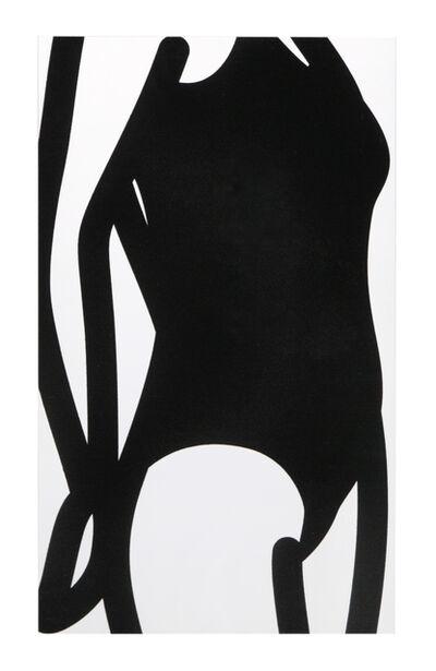 Julian Opie, 'This is Monique (Flocking) 19', 2004