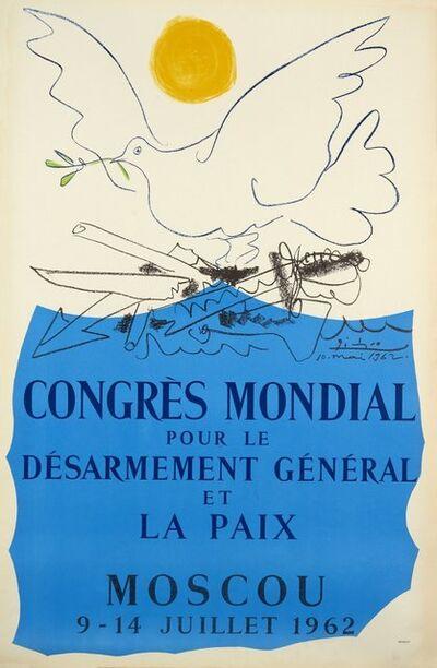 Pablo Picasso, 'Congrés Mondial pour le Desarmement', 1962