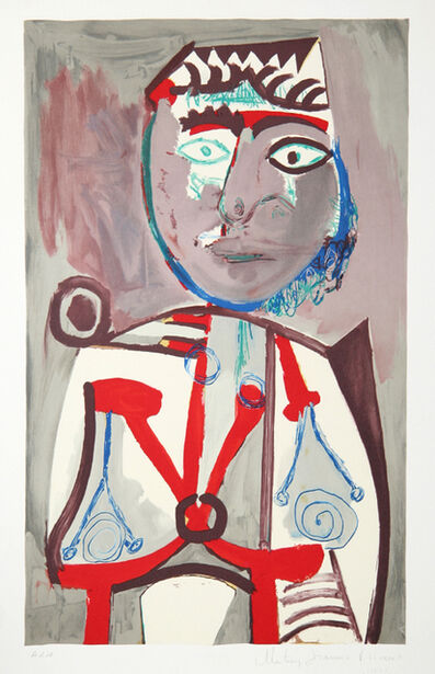 Pablo Picasso, 'Personnage, 1970', 1979-1982