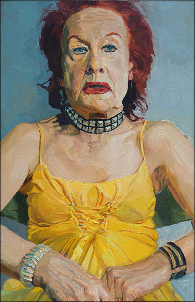 Laura Alexander, 'Olivia, Yellow Dress', 2006