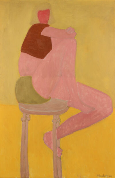 Milton Avery, 'Brown Bolero', 1957