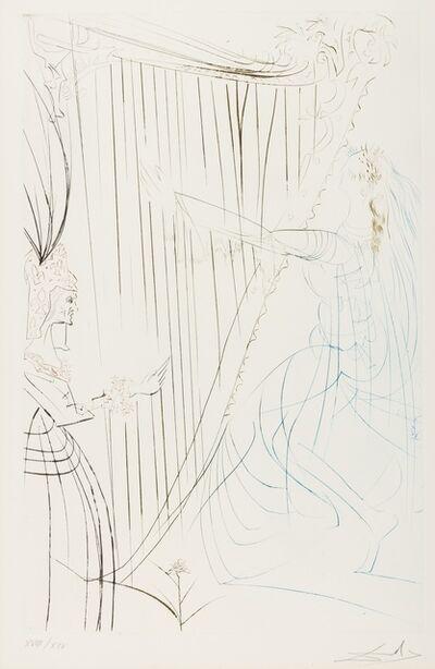Salvador Dalí, 'La Reine Iseult et sa Fille (from Tristan et Iseult) (M&L 409b; Field 70-10-D)', 1970