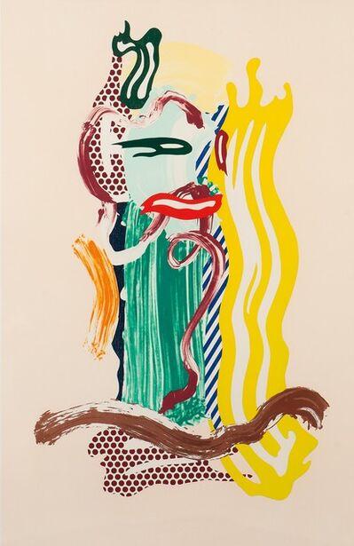 Roy Lichtenstein, 'Portrait, from the Brushstroke Figures series ', 1989