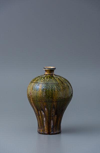 Ken Matsuzaki, 'Vase, oribe glaze', 2018
