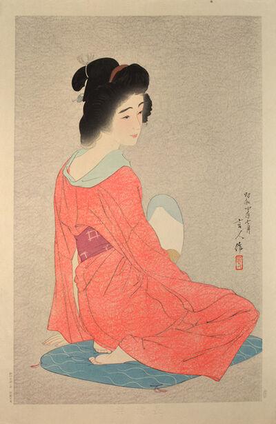 Kotondo Torii, 'Undergarment (Variant State)', 1929