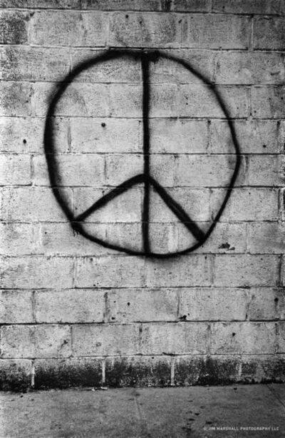 Jim Marshall, 'Peace Brick Wall', 1962