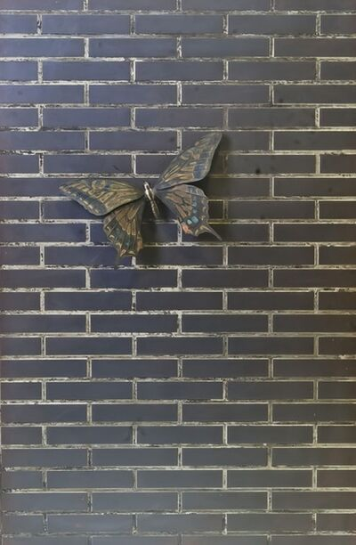 Takeshi Harada, 'Tile and swallowtail butterfly', 2019