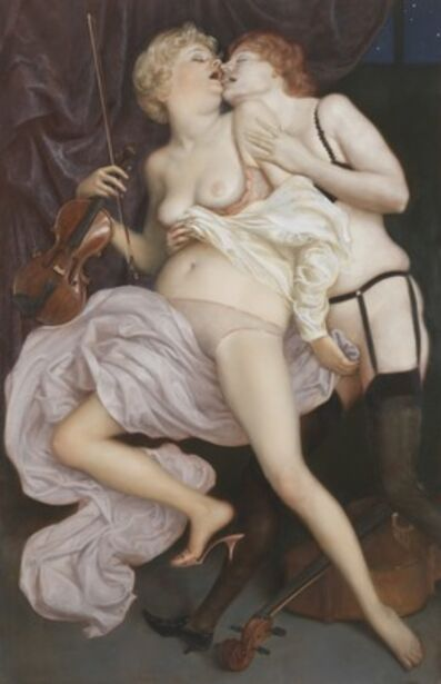 John Currin, 'The Conservatory', 2010