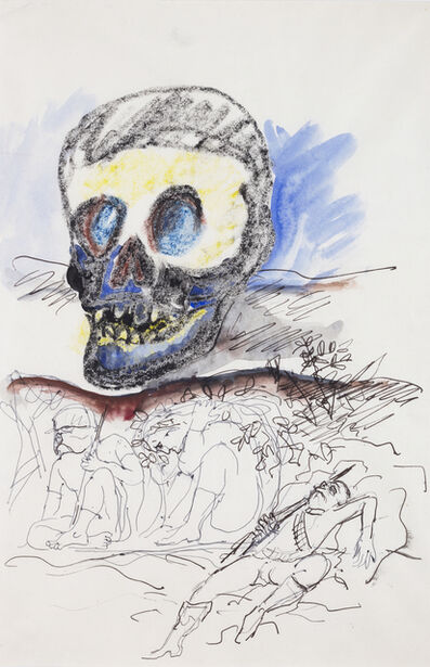 """Antonio Berni, 'Sin Título (Trincheras). De la serie """"Guerra de Corea""""', ca. 1965"""