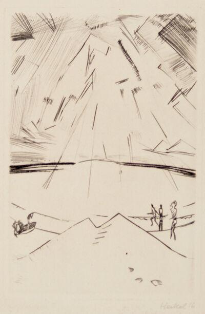 Erich Heckel, 'Ocean at Ostende', 1916