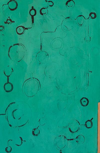 Glen Moriwaki, 'Untitled (blue-green)', 2017