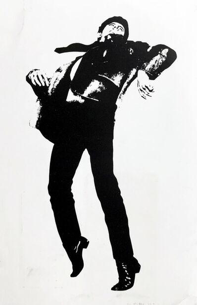 Robert Longo, 'Robert Longo Men In The Cities announcement card (Gagosian 1981)', 1981