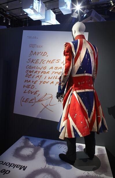 David Bowie, 'Installation view: Area 9 – Union Jack Coat'