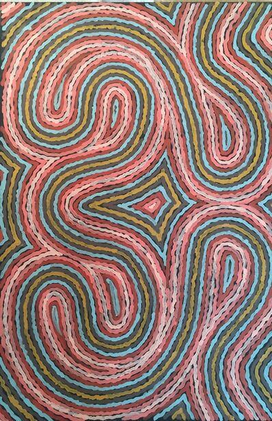 Clifford Possum Tjapaltjarri, 'Worm Dreaming', 1997