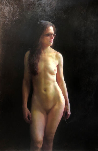 Steven Assael, 'Patricia (Standing Nude)', 2018