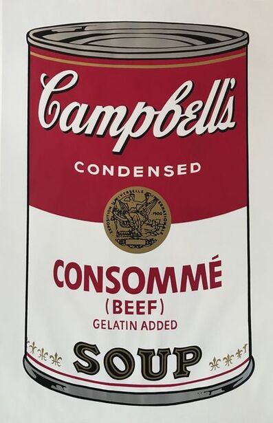 Andy Warhol, 'Soup Can l, Consomme' (Beef)', 1968