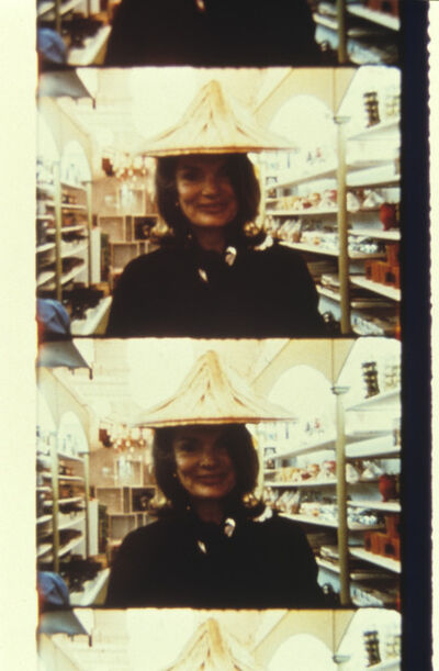 Jonas Mekas, 'Jackie Kennedy, Chinatown, NYC, April 27, 1972', 2013