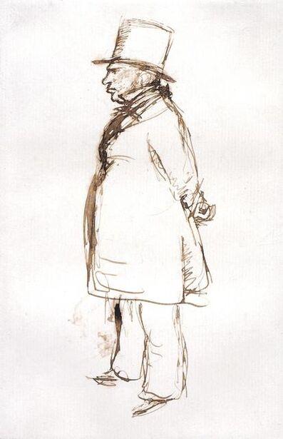 Sir John Everett Millais, 'Turner on Varnishing Day at the Royal Academy', 1851