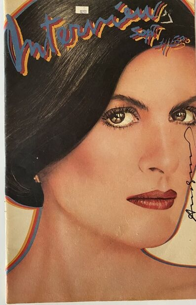 Andy Warhol, 'Interview Magazine signed by Andy Warhol (Paloma Picasso)', 1980