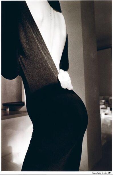 Jeanloup Sieff, 'Robe Noire de Dos, Paris', 1985