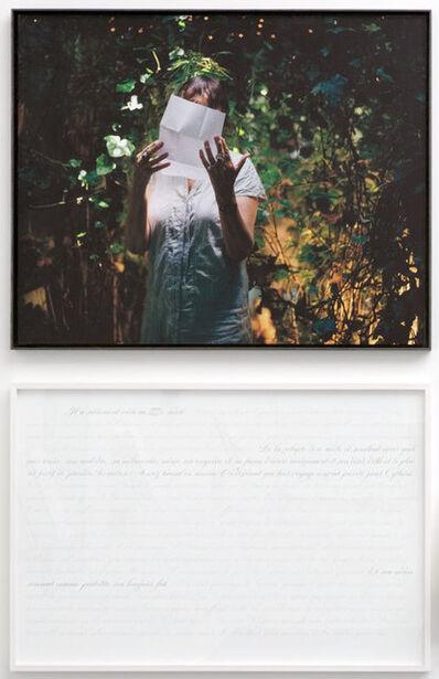 Sophie Calle, 'Historienne du XVIIIème / Historian of the eighteenth century, Arlette Farge - Prenez soin de vous', 2007