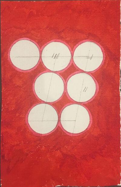 David Lamelas, 'Paralelogramo sobre siete círculos', 1989