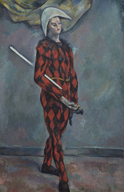 Paul Cézanne, 'Harlequin', 1888-1890