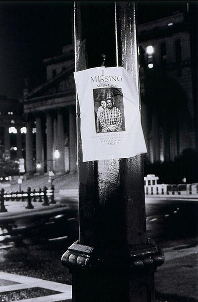 Jeffrey Silverthorne, 'Missing Child and Suspect, Cleveland', 1989