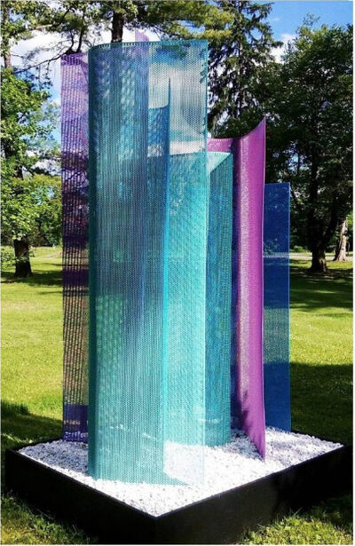 Shelley Parriott, 'Color Field Sculpture® Installations and A-MAZE-ING® Public Art', 2021