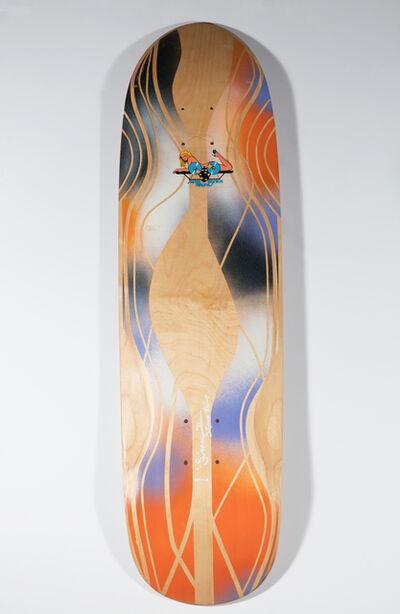 Skip Engblom, 'Skip Engblom Skateboard Deck, Flying Girl', 2016
