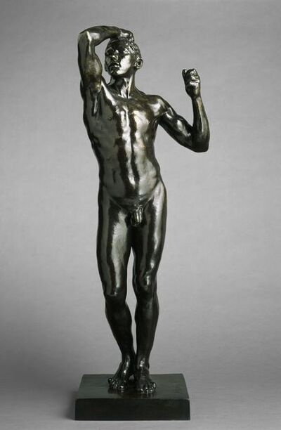 Auguste Rodin, 'The Age of Bronze, First Reduction', 1876