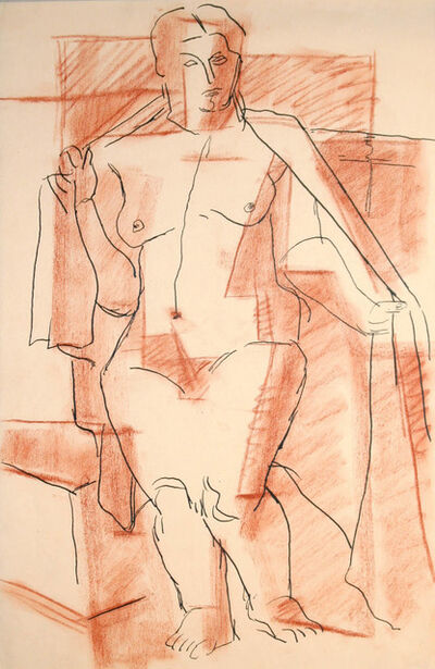 R. Leroy Turner, 'Untitled (Standing Nude)', ca. 1930s